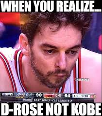 Chicago Bulls Memes - nba memes on twitter pau gasol with the chicago bulls drose kobe