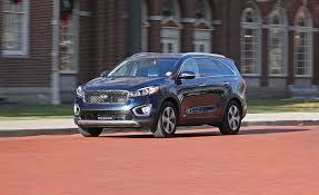 2017 kia sorento in depth model review car and driver