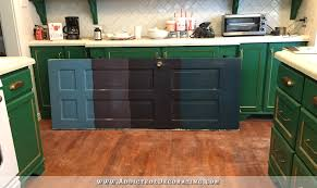 and the kitchen cabinet color winner is u2026