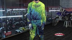 youth motocross gear combos fly racing 2015 kinetic mx gear review youtube