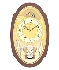 home decoration smart two clock wall and rhythm quartz clock and