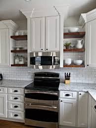 Open Kitchen Shelving Ideas Tda Decorating And Design Kitchen Before During U0026 After Reveal