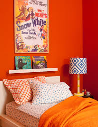 harmonise your hairstyle with your wardrobe to create an impact decorating with orange sunset