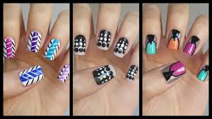 easy nail art for beginners 16 jennyclairefox youtube
