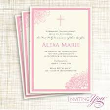 confirmation invites confirmation holy spirit dove and cross lilac card confirmation