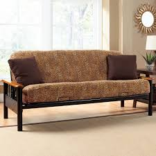 decor wondrous futon slipcover for comfy home furniture ideas