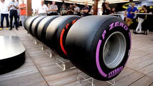 pirelli show off full range of wider 2017 tyres