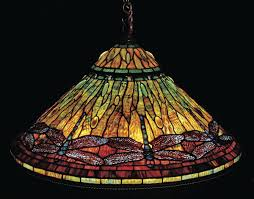 Midwest Chandelier Company Auction Of Tiffany U0027s Columns Collectorsjournal Com