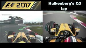 codemasters u0027 f1 2017 vs reality renault r s 17 on china youtube