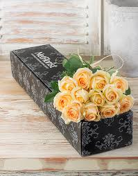Roses In A Box Buy Cream Roses In A Box Online Netflorist