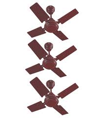 24 inch ceiling fan online omen 24 inch popular ceiling fan brown set of 3 price in india buy