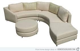 sofa beds design elegant unique rounded sectional sofa decorating