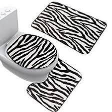 Zebra Bath Rug Cheap Zebra Bath Mat Set Find Zebra Bath Mat Set Deals On Line At