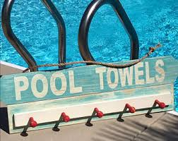Outdoor Decorative Signs Swimming Pool Signs Etsy