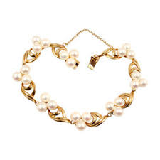 pearl bracelet with yellow gold images Mikimoto brands truefacet jpg