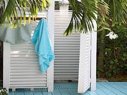 Outdoor Shower Cubicle - best outdoor shower stall ideas house design and office