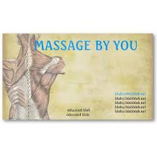 Massage Therapy Business Cards 36 Best Massage Images On Pinterest