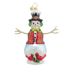 christopher radko ornaments 2016 radko cardinal appeal ornament