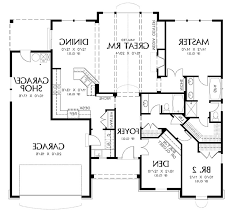 free modern residence area planning for two story house floor