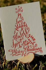 christmas calligraphy cards diy projects craft ideas u0026 how to u0027s