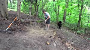 building my backyard rc track youtube