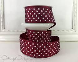 burgundy wired ribbon wired ribbon 1 1 2 burgundy with white three yard roll