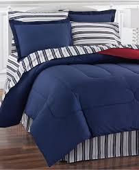 bed in a bag and comforter sets queen king more macy s navy yard reversible bedding ensembles created for macy s
