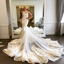 luxury mermaid wedding dresses wedding dress mermaid luxury bridalblissonline com