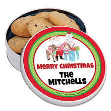 shop personalized cookie tin favors stumps
