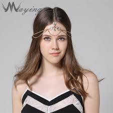 jeweled headbands 1920s jeweled bridal wedding gold floral rhinestone girl