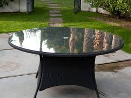 Outdoor Furniture Martha Stewart by Patio 65 Glass Patio Table Martha Top 1 615 Complaints And