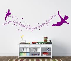 Wizard Of Oz Wall Stickers Peter Pan Wall Decal Never Grow Up Mural Stickers Wall Art
