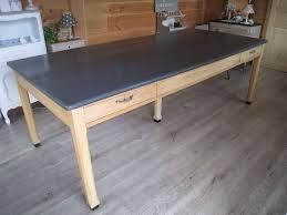 table cuisine bois brut beau peindre du bois brut 2 une nouvelle table de cuisine