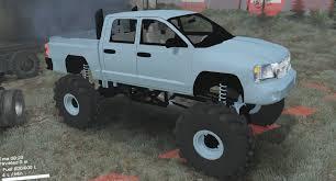 1999 Dodge Dakota Truck Bed - spintires mods dodge dakota mega truck gets stuck in the swamp