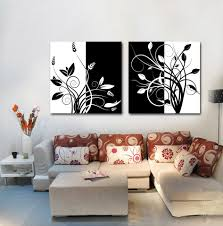 Pictures Of Simple Living Rooms by Simple Home Decoration Painting Flowers Leaves Design Art Pictures