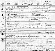 thomas patrick norton i 1891 1968 death certificate flickr