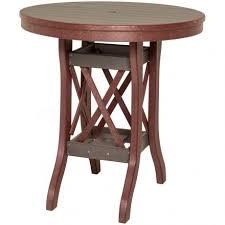 amish made outdoor balcony u0026 bistro tables pinecraft com