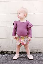 paper bag toddler shorts pattern paper bag waist baby bloomers see kate sew
