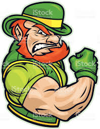 fighting irish leprechaun logo 5754
