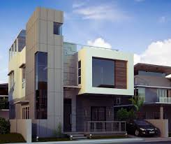 architecture 3d home design 3bhk with modern interior design and