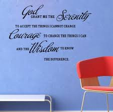 amazon com god grant me the serenity prayer bible art quote vinyl amazon com god grant me the serenity prayer bible art quote vinyl wall stickers decal decor home kitchen