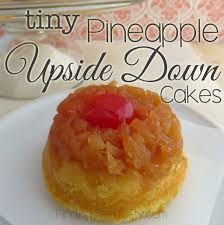 tiny pineapple upside down cakes finding time to fly
