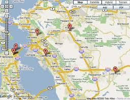 san francisco map east bay map east bay date spots east bay times