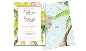 tropical wedding invitations wedding invitations cincinnati by design
