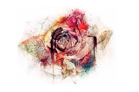 watercolor vintage rose tattoo u2013 mybodiart