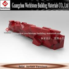 Marble Reception Desk Red Marble Reception Desk Guangzhou Worldstone Building
