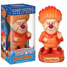 year without a santa claus heat miser bobble funko