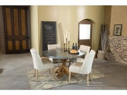 zinc and copper top tables and sets kitchen furniture dining