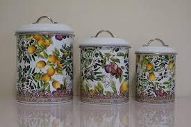 28 kitchen canisters australia set of vintage retro 1960 s