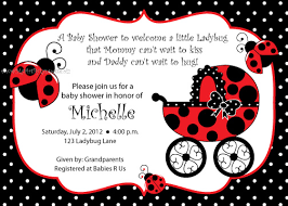 ladybug baby shower ideas ladybug baby shower invitations marialonghi